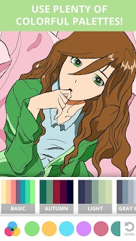 Manga & Anime Coloring Book: Pages For Adults