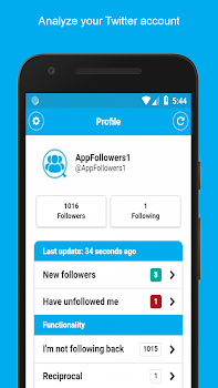 Followers Analyzer for Twitter