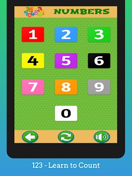 Preschool Kids Learning Games: ABC, Numbers, Color