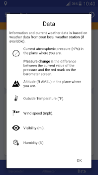 Barometer Altimeter By EXA Tools App In Barometric - Best altitude app