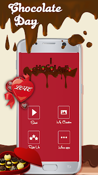 Chocolate day greetings card 2018 by photo collage editor chocolate day greetings card 2018 m4hsunfo