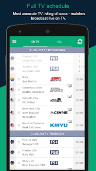 Soccer Live on TV