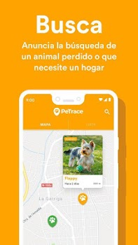 PeTrace - GPS locator for pets and animals