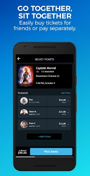 Atom Tickets - Movie Showtimes & Tickets