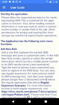SMS Alert Rules - messaging App with smart alerts