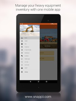 Equipment Inventory App - by Snappii - Business Category