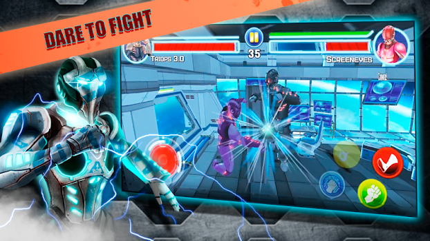 Steel Street Fighter 🤖 Robot boxing game