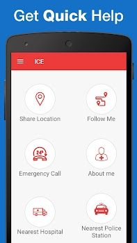 ICE : Personal Safety App