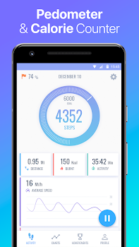 Pedometer Pacer - Step Counter & Calorie Counter