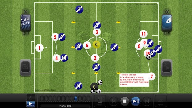 Coach Tactic Board: Volley - by Grzegorz Kipa - Sports Category - 21