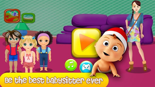 Nanny baby day care by baca baca games casual games category nanny baby day care voltagebd Gallery