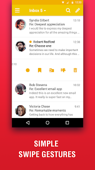 Lite Mail: Hotmail, Gmail, Yahoo Email Client
