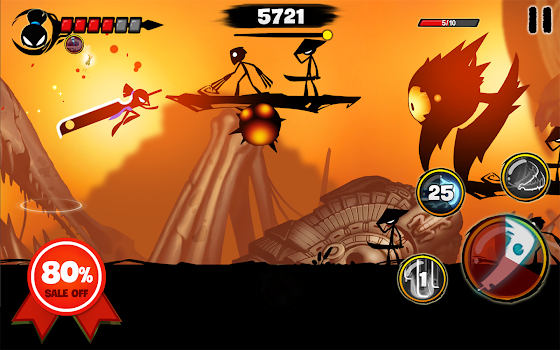 Stickman Revenge 3: League of Heroes