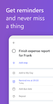 Microsoft To-Do: List, Task & Reminder