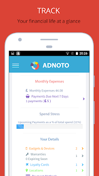 adnoto expense manager tracker planner by adnoto expense