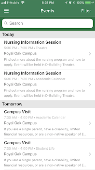 Occ Royal Oak Campus Map.Occ Connect By Oakland Mobile Education Category 1 Reviews