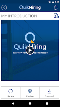 QuikHiring Job Search Video CV
