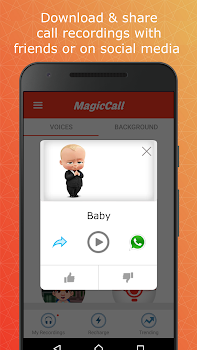MagicCall – Voice Changer & Prank Calling App
