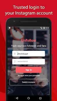 Unfollow for Instagram - Non followers & Fans