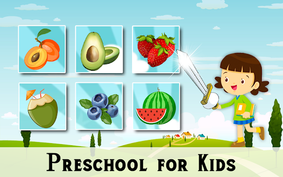 Fruits and Vegetables - Preschool Kids Learning