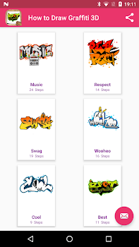 How to Draw Graffiti 3D