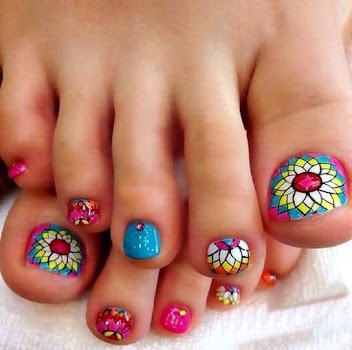 Toe Nail Art Design By Cidro Kloro Apps Lifestyle Category 21