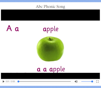 abc alphabets phonics sound - an offline app - by sam apps