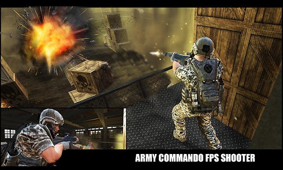 US Army Commando Survival - FPS Shooter