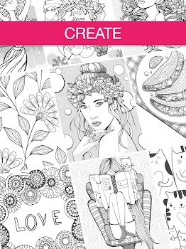 Coloring Book 2018 ❤ Coloring Game App for Adults - by App Labs ...