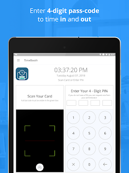 Employee Time Recording - Clock In Clock Out App