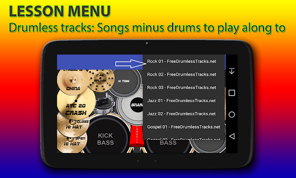 Drum kit - by Mobjog - Music Games Category - 1,334 Reviews