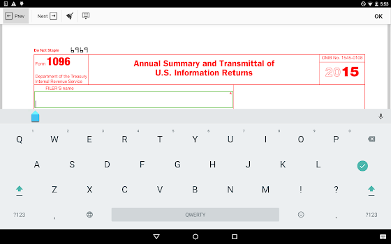 Irs 1096 Form By Pdffiller Inc Business Category 0 Reviews