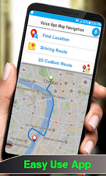 gps voice street view live tracking maps