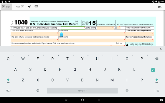 Irs Form 1040 Sign Income Tax Return Eform By Pdffiller Inc