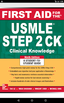 First Aid for the USMLE Step 2 CK, Ninth Edition