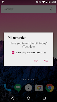 Lady Pill Reminder  ®
