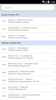 Football Live Scores