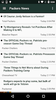 Football News - Packers edition