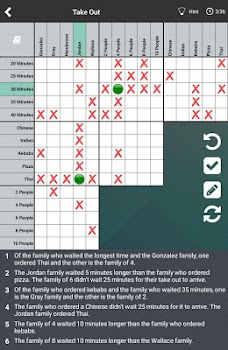 Logic Puzzles Daily - Solve Logic Grid Problems