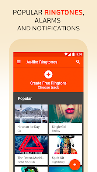 Audiko: ringtones, notifications and alarm sounds.