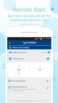 Myhyundai With Blue Link By Hyundai Motor America Productivity