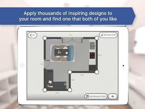 Room planner: Interior & Floorplan Design for IKEA