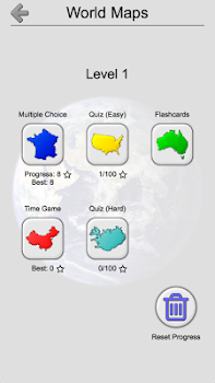 Maps of All Countries in the World: Geography Quiz