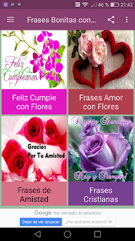 Frases Bonitas Con Flores By New Generation Apps Android