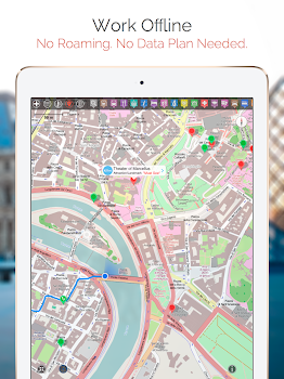 Trondheim Map and Walks by GPSmyCitycom Inc Travel Local