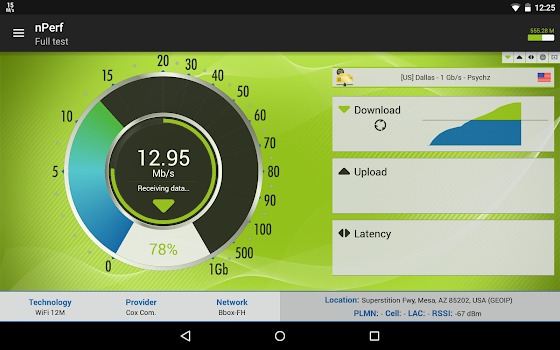 Speed test 3G, 4G LTE, WiFi & network coverage map