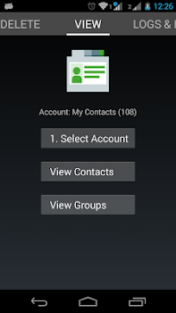 Contacts Import