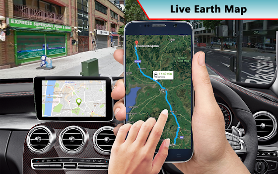 gps earth satellite maps street