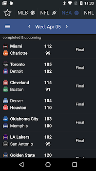 Sports Alerts - real-time scores, stats & odds