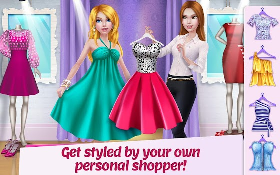Shopping Mall Girl - Dress Up & Style Game